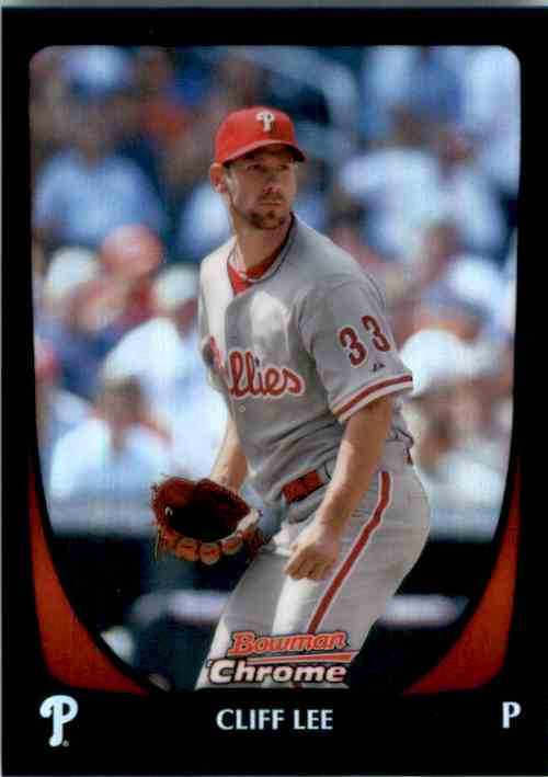 2011 Bowman Chrome Refractors Cliff Lee #149 card front image