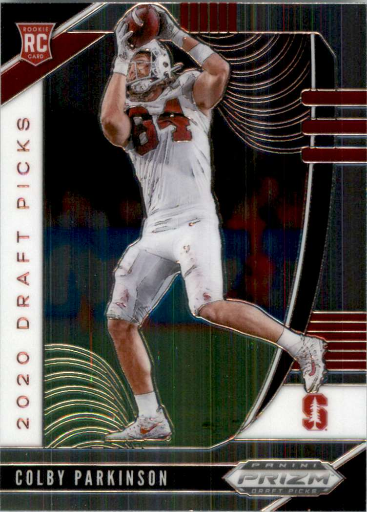 2020 Panini Prizm Draft Picks Colby Parkinson RC #135 card front image