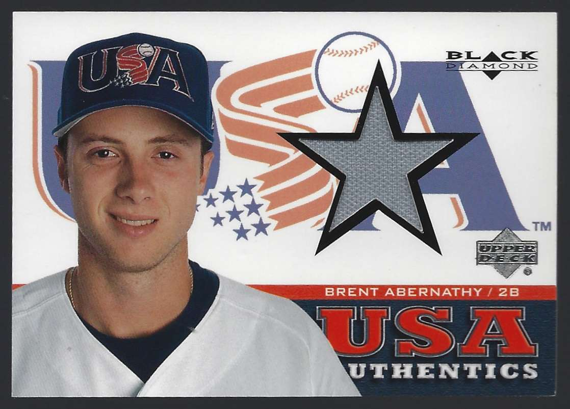 2000 Black Diamond Rookie Edition Brent Abernathy USA RC #147 card front image