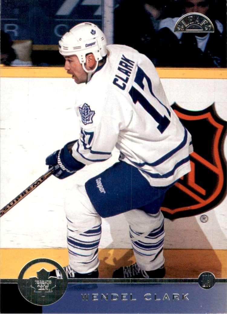 1996-97 Leaf Wendel Clark #166 card front image