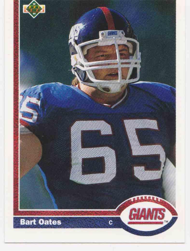 1991 Upper Deck Bart Oates #418 card front image