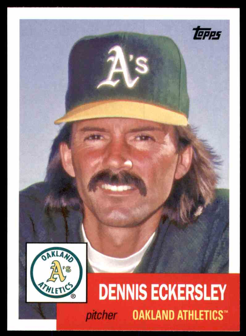 2016 Topps Archives Dennis Eckersley #72 card front image