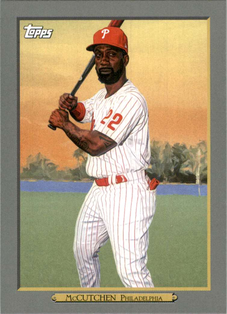2020 Topps Update Turkey Red Andrew McCutchen #TR13 card front image