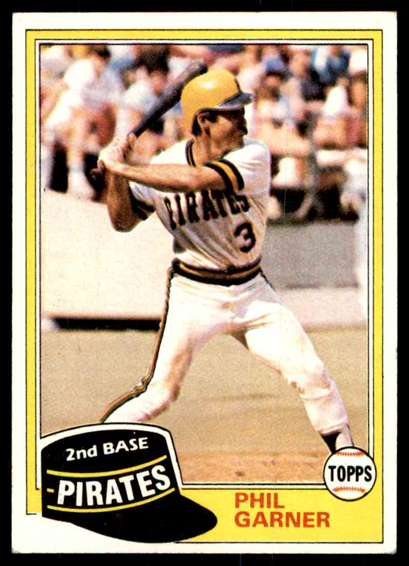 1981 Topps Phil Garner 573 On Kronozio