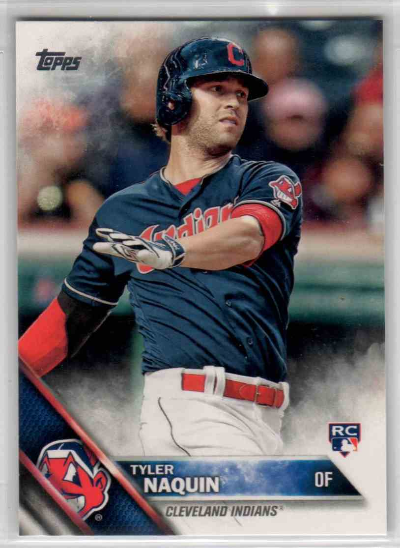 2016 Topps Update Tyler Naquin #US117 card front image