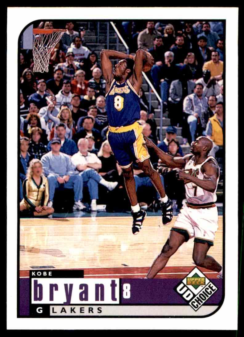 1998-99 Upper Deck Kobe Bryant #69 card back image
