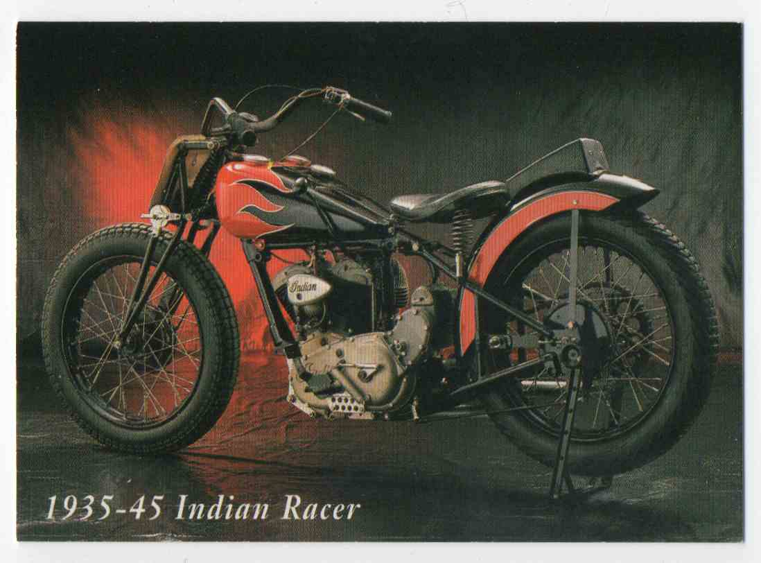1993 InLine 1935-45 Indian Racer #31 card front image