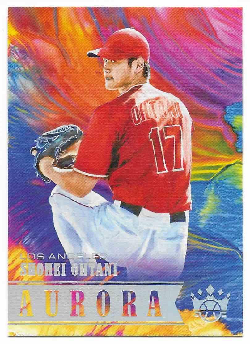 2018 Diamond Kings Aurora Shohei Ohtani #A10 card front image