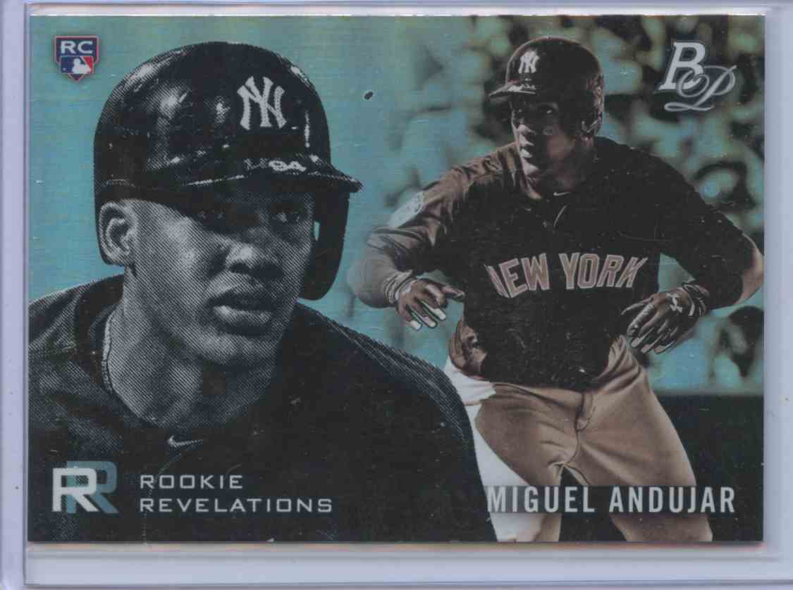 2018 Bowman Platinum Rookie Revelations Lot Of 3 Cards Miguel Andujar #4 card front image