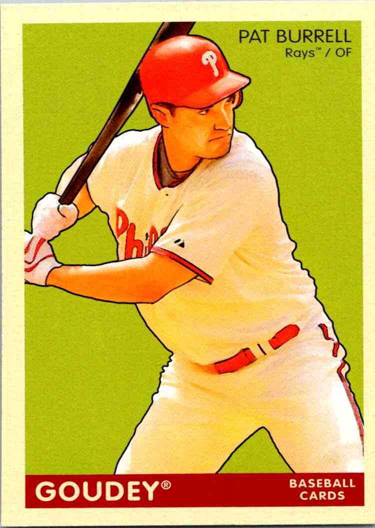 2009 Upper Deck Goudey Pat Burrell #157 card front image