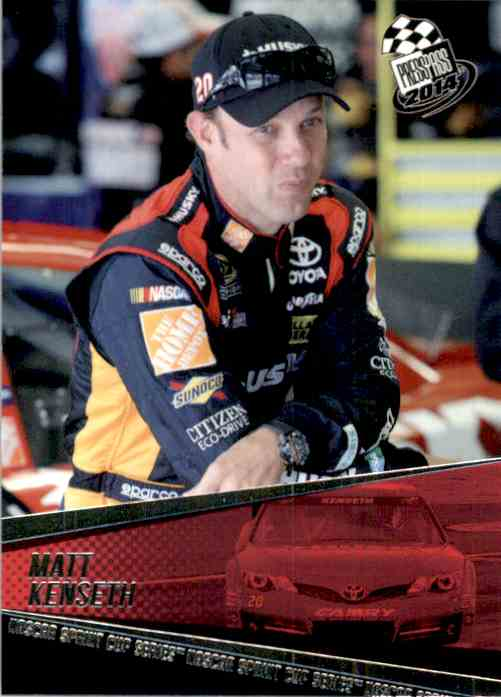 2014 Press Pass Matt Kenseth #19 card front image