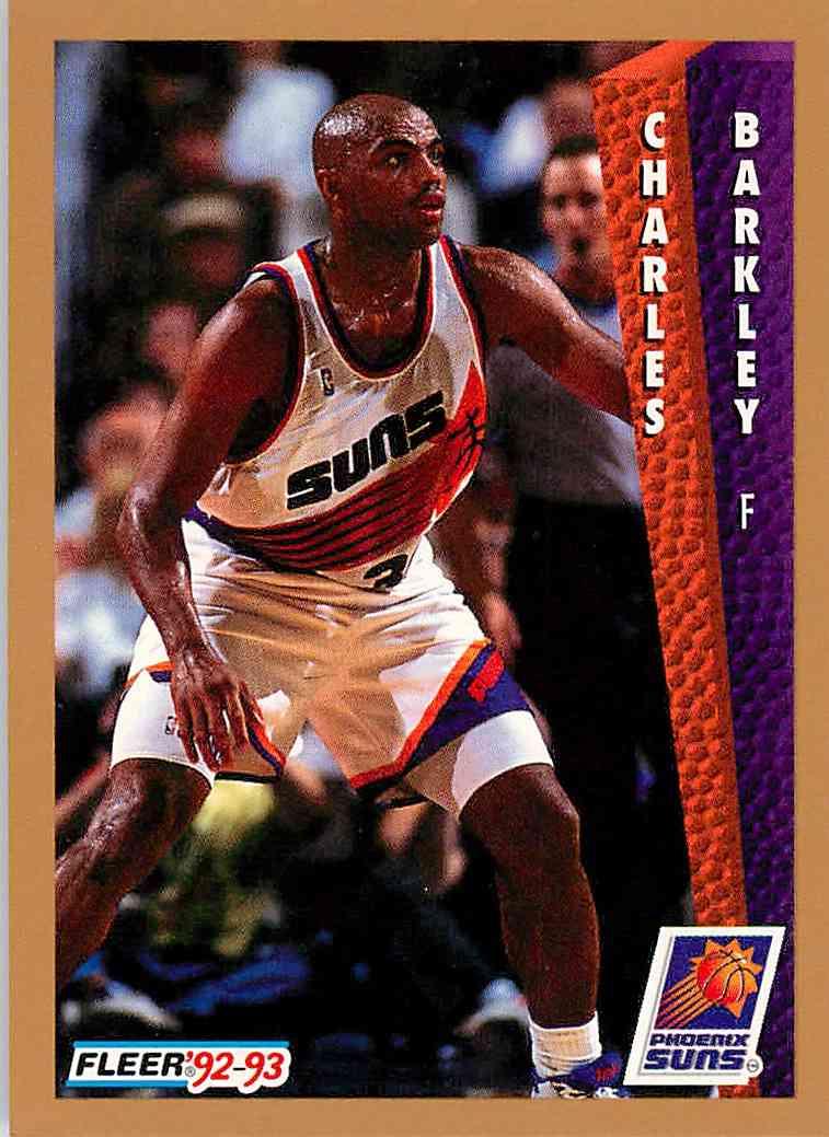 1993-94 Fleer Charles Barkley #41 card front image
