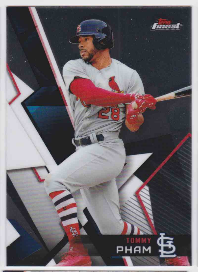 2018 Topps Finest Tommy Pham #21 card front image