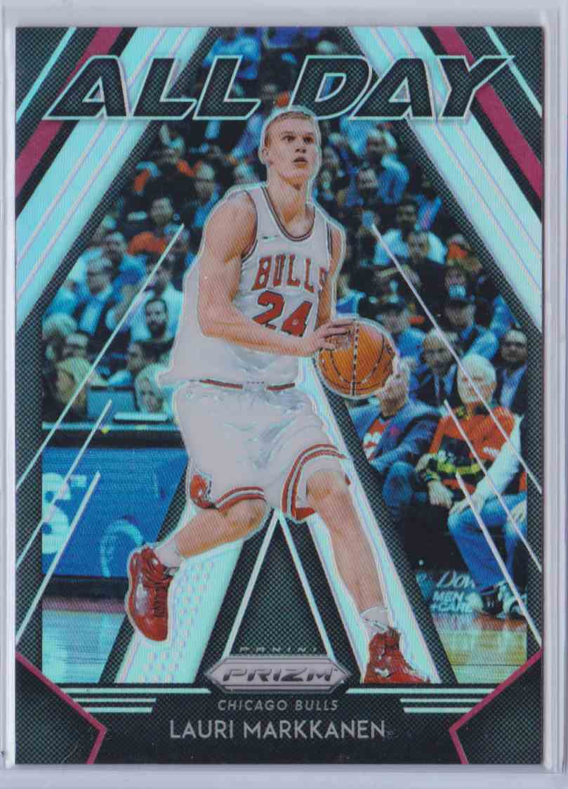 2018-19 Prizm All Day Silver Lauri Markkanen #23 card front image