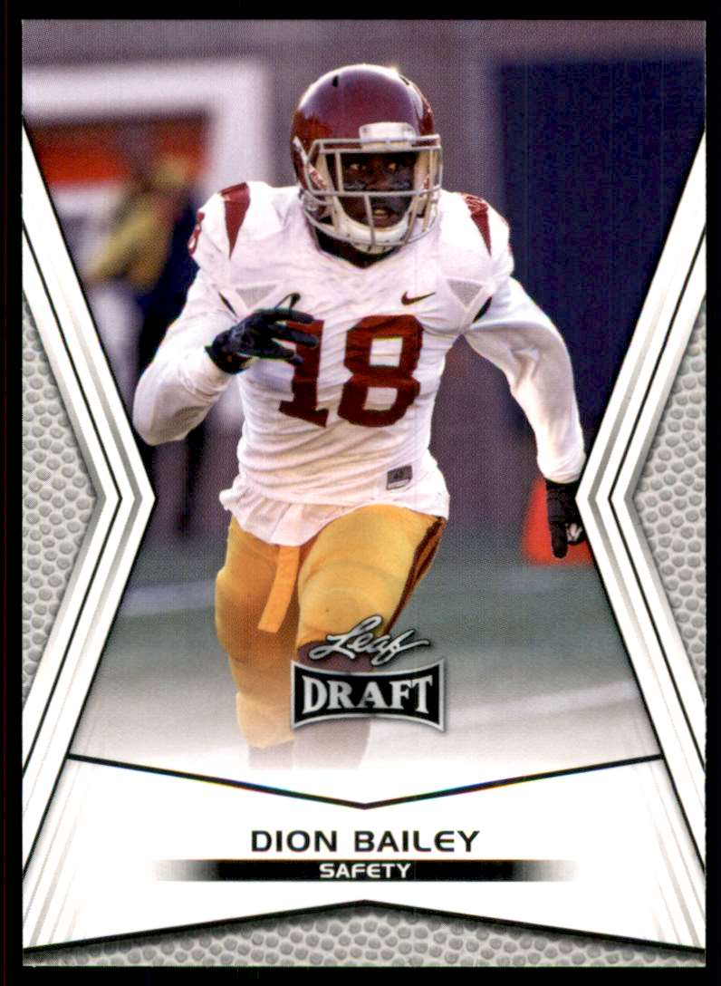 2014 Leaf Draft Dion Bailey #18 card front image