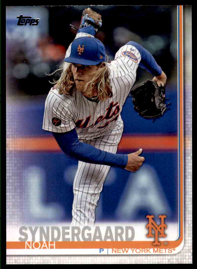 2019 Topps Series 2 Noah Syndergaard #359 card front image