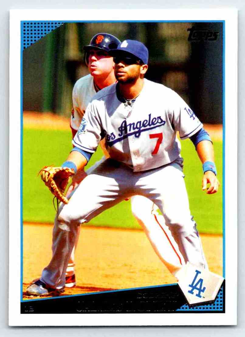 2009 Topps James Loney #462 card front image