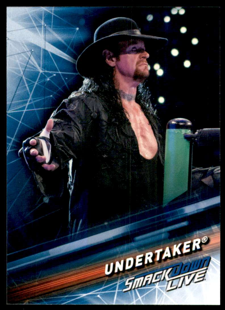 2019 Topps Wwe SmackDown Live Undertaker #60 card front image