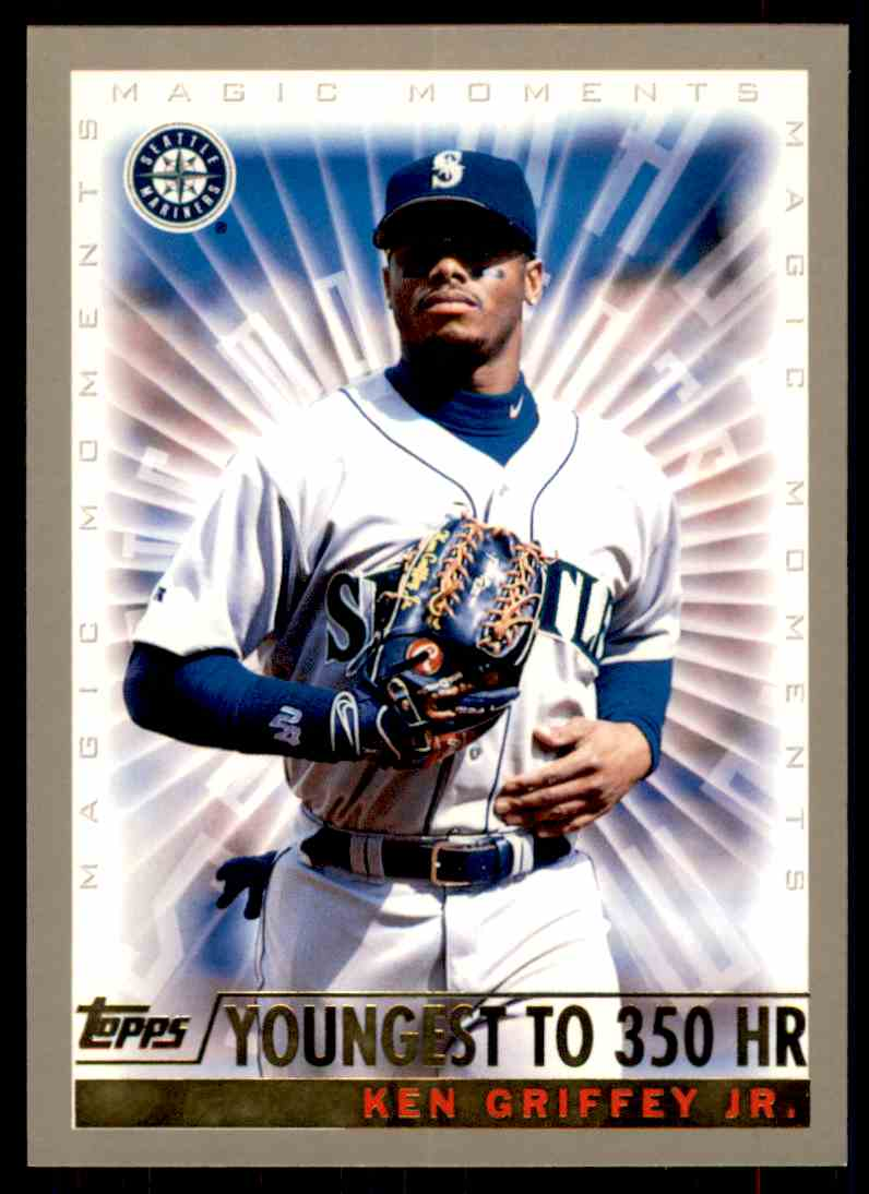 2000 Topps Magic Moments Ken Griffey JR. #475 card front image
