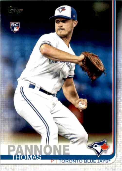 2019 Topps Update Thomas Pannone RC #US239 card front image