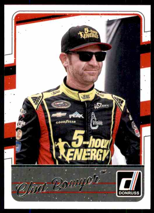 2017 Donruss Clint Bowyer #55 card front image