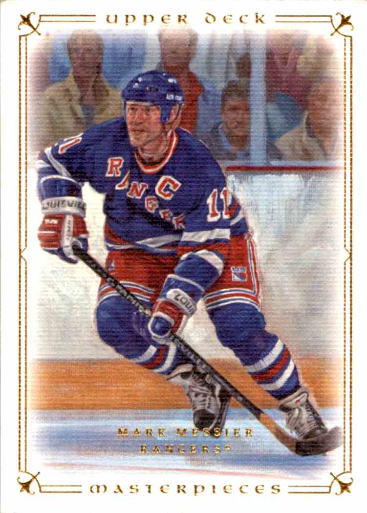 2008-09 Upper Deck Masterpieces Mark Messier #87 card front image