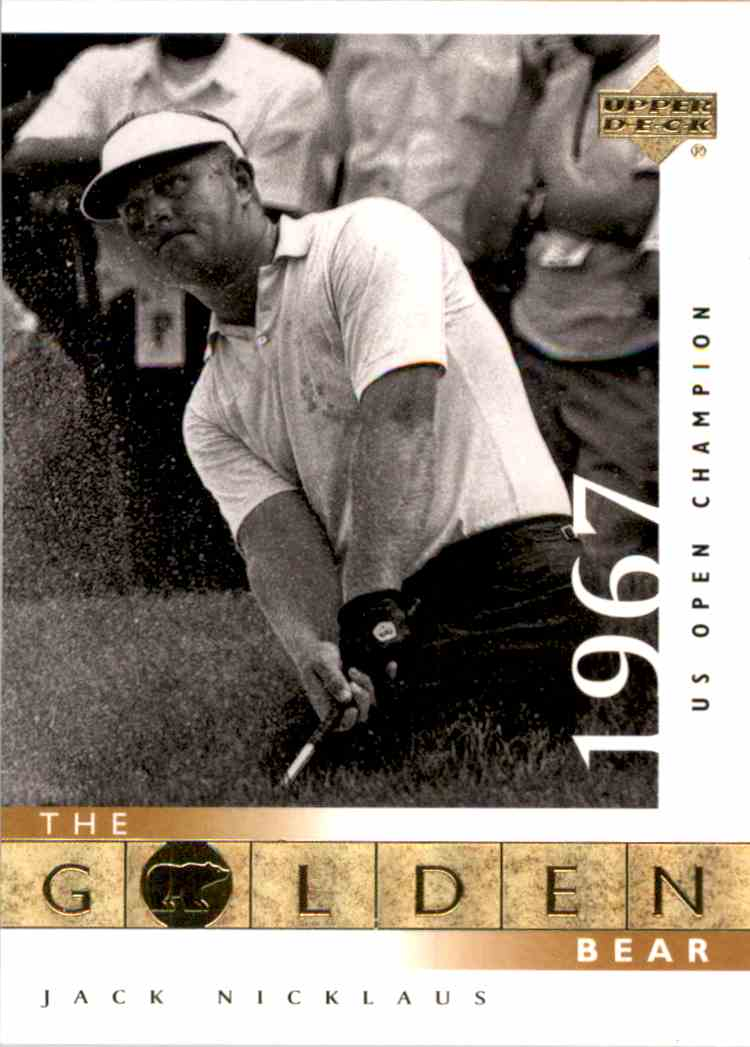 2001 Upper Deck J.Nicklaus Gb 67 Us Open #112 card front image