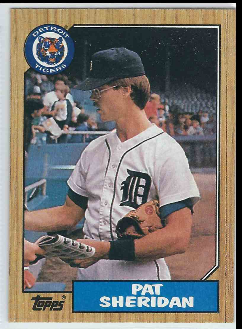1987 Topps Pat Sheridan #234 card front image