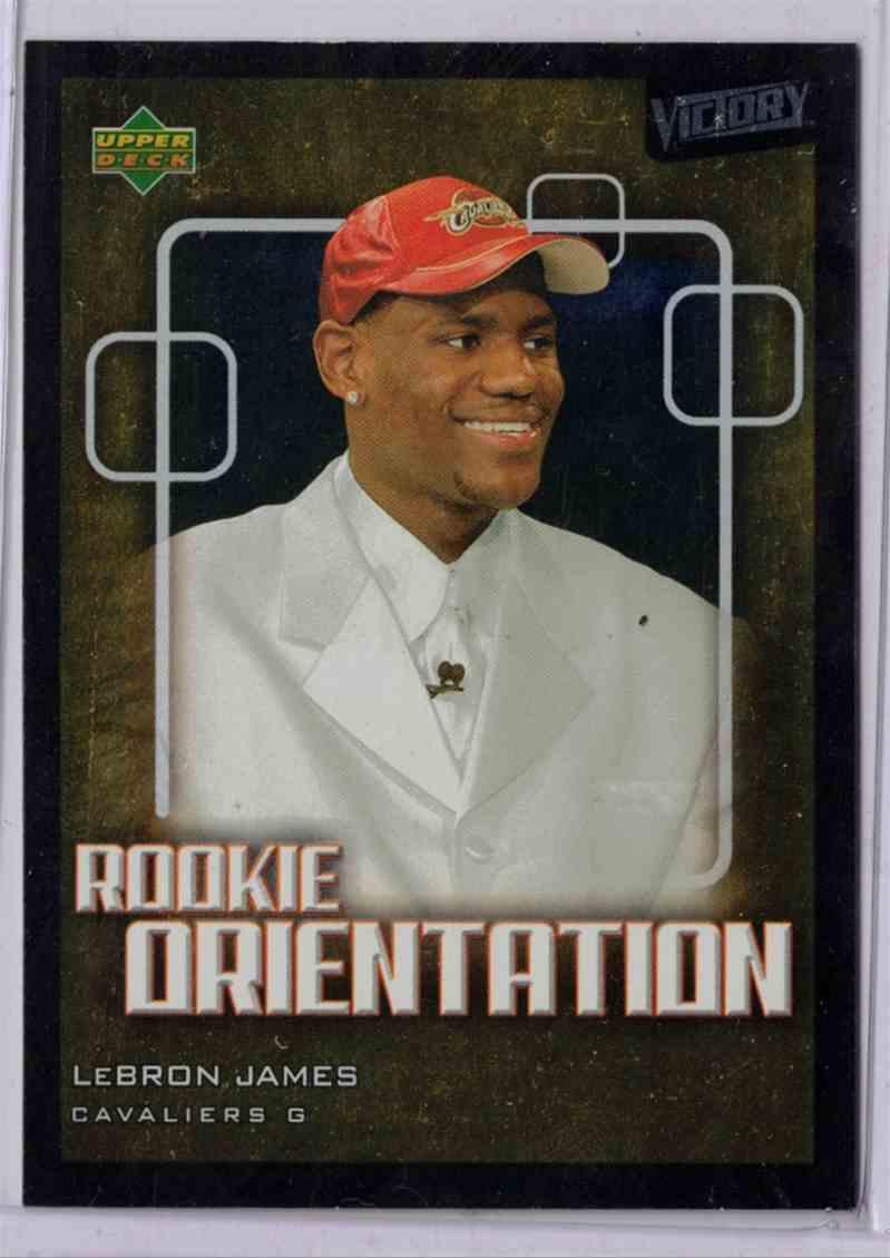 2003-04 Upper Deck Victory Lebron James #101 card front image