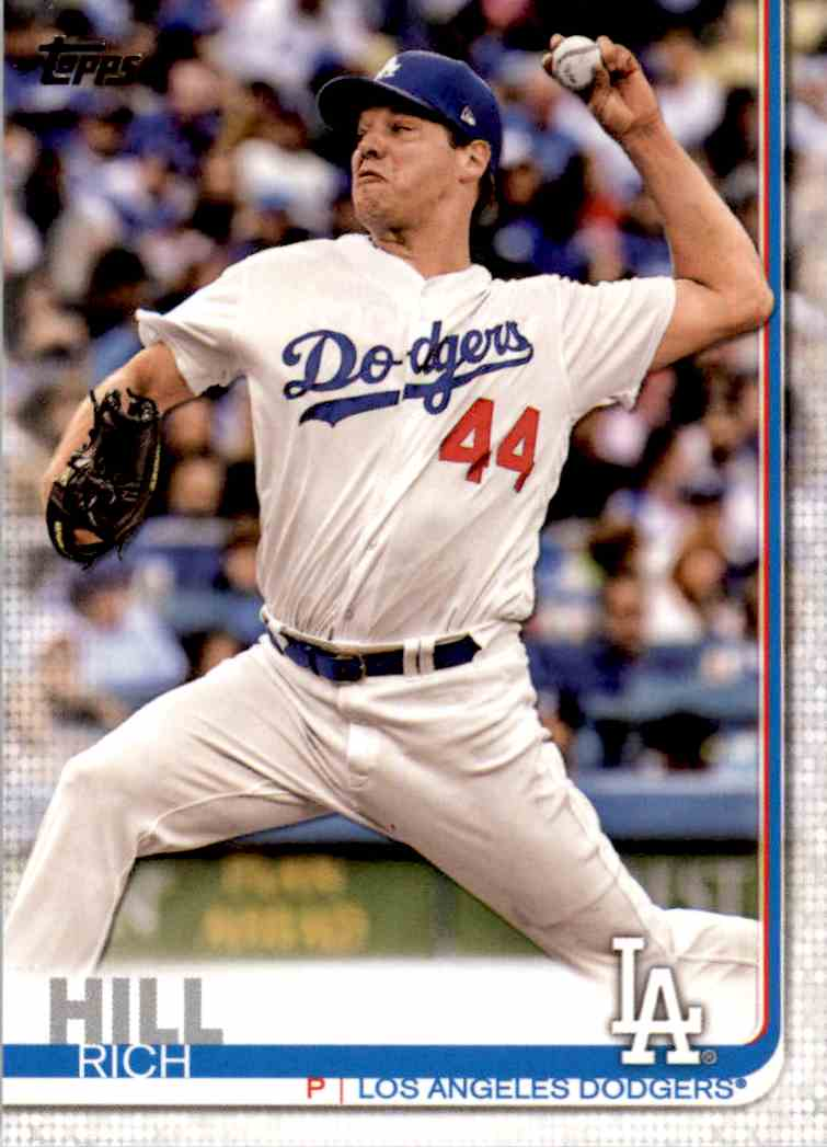 2019 Topps Rich Hill #283 card front image