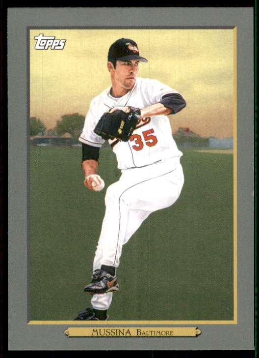 2020 Topps Update Turkey Red '20 Mike Mussina #TR38 card front image
