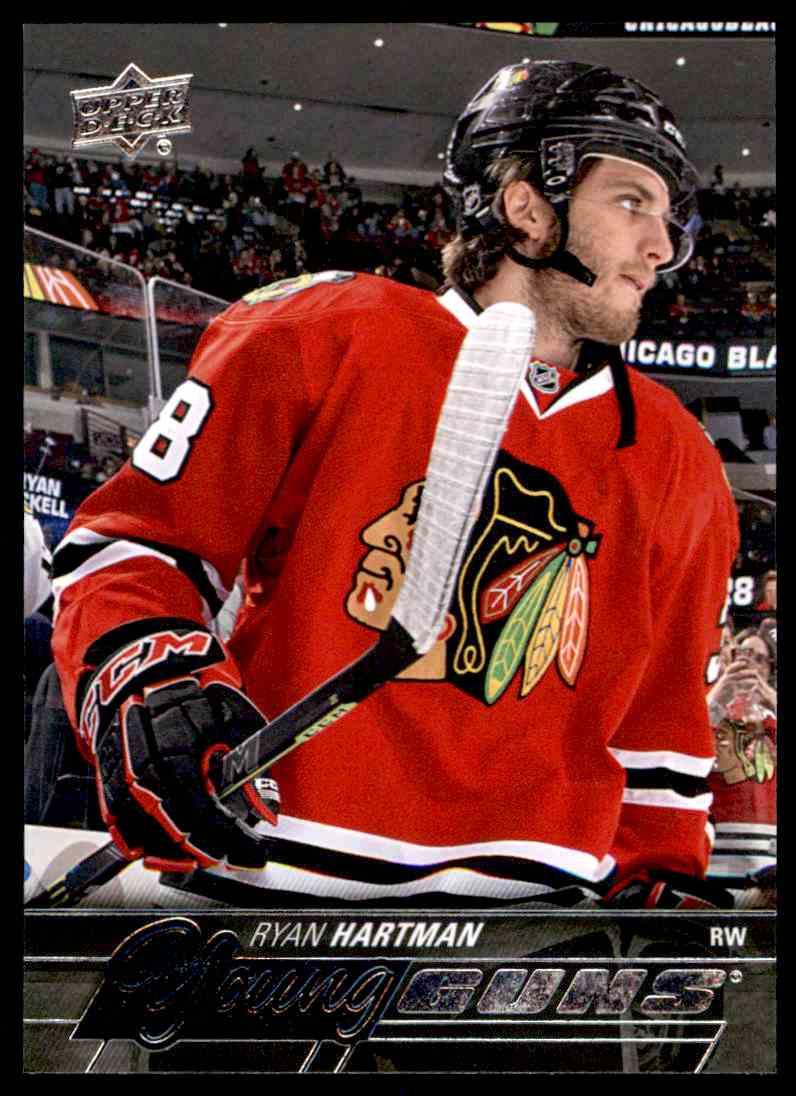 2015-16 Upper Deck Series One Ryan Hartman #475 card front image