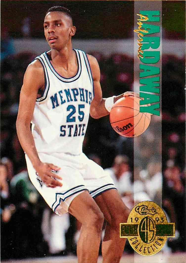 1993-94 Classic Four Sport Collection Anfernee Hardaway #2 card front image
