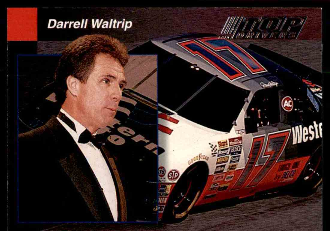 1994 Pro Set Power Racing Darrell Waltrip #PREVIEW 9 card front image