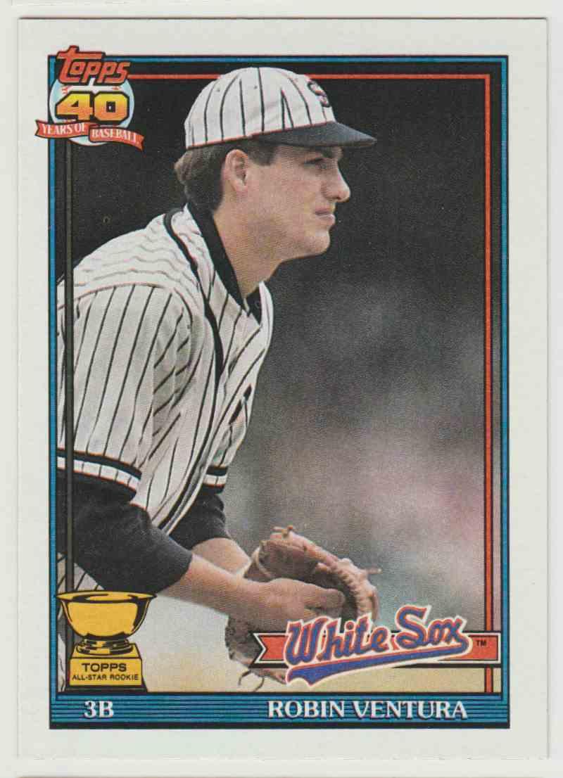 1990 Topps Robin Ventura #461 card front image
