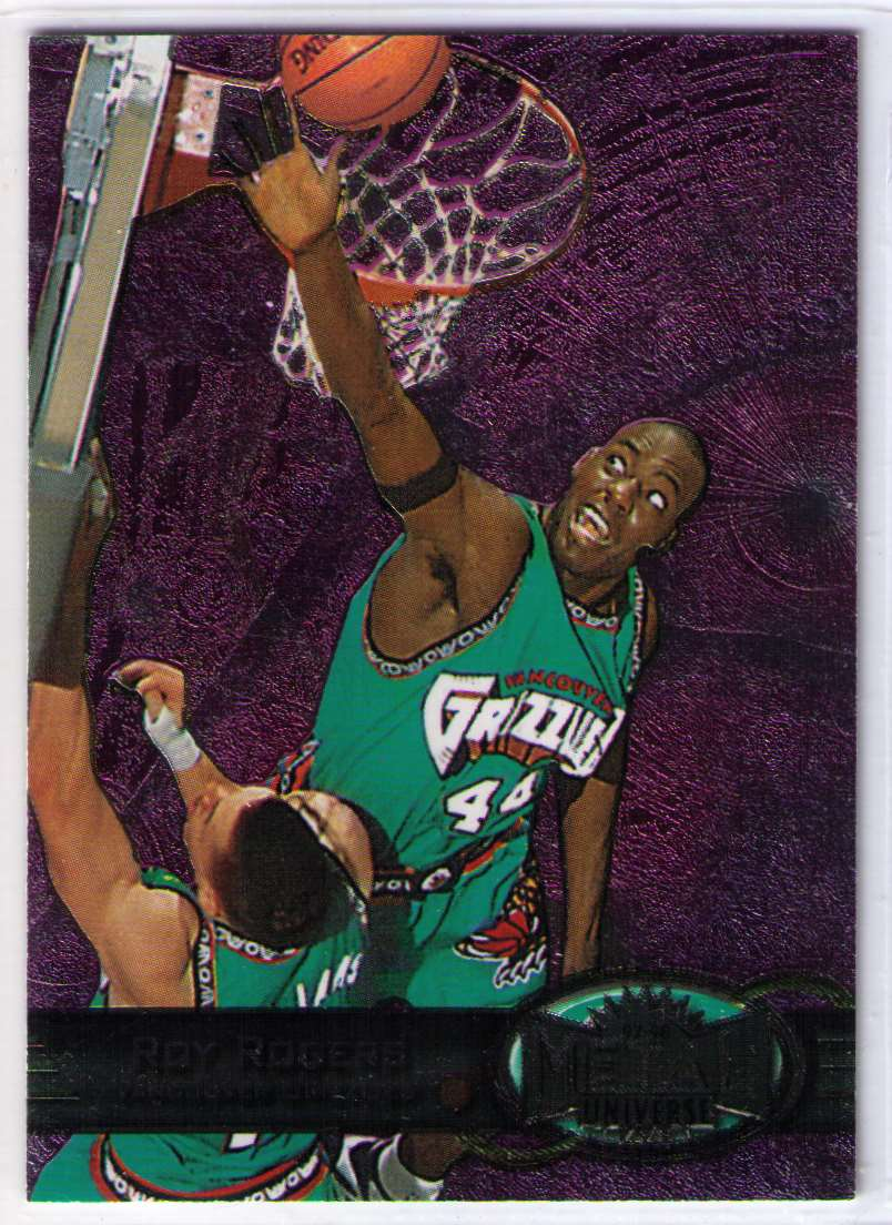1997-98 Metal Universe Basketball SP Roy Rogers #46 card front image