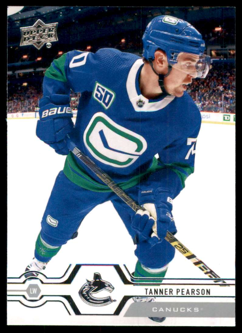 2019-20 Upper Deck Tanner Pearson #423 card front image