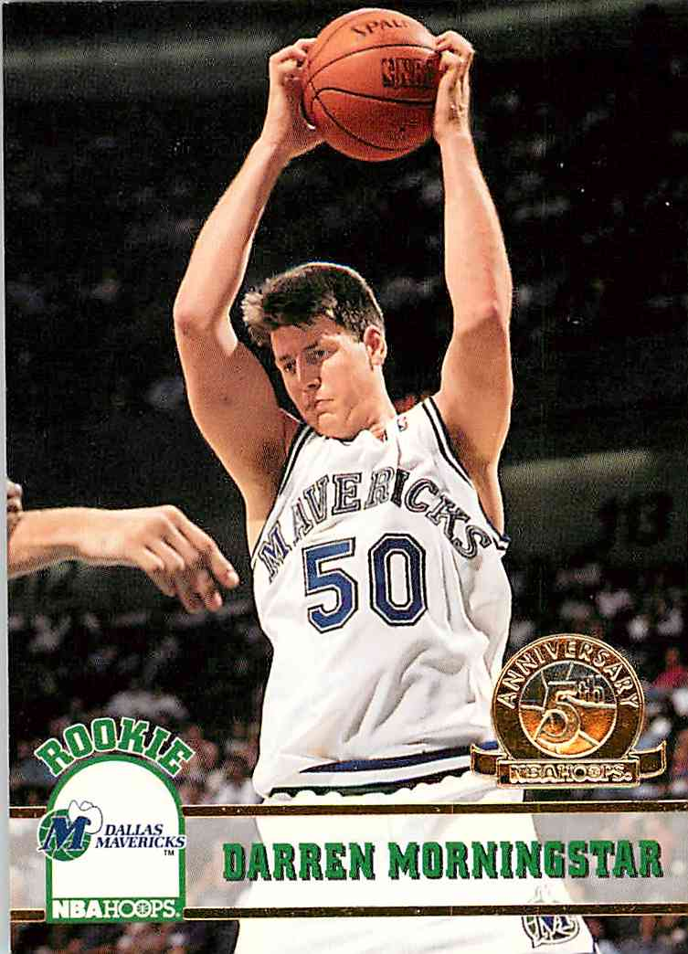 1993-94 Hoops Darren Morningstar #324 card front image
