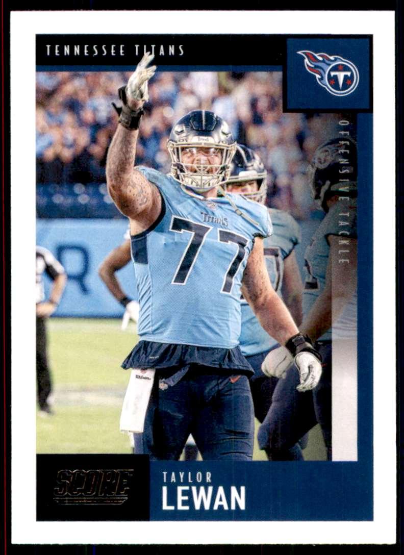 2020 Score Taylor Lewan #116 card front image