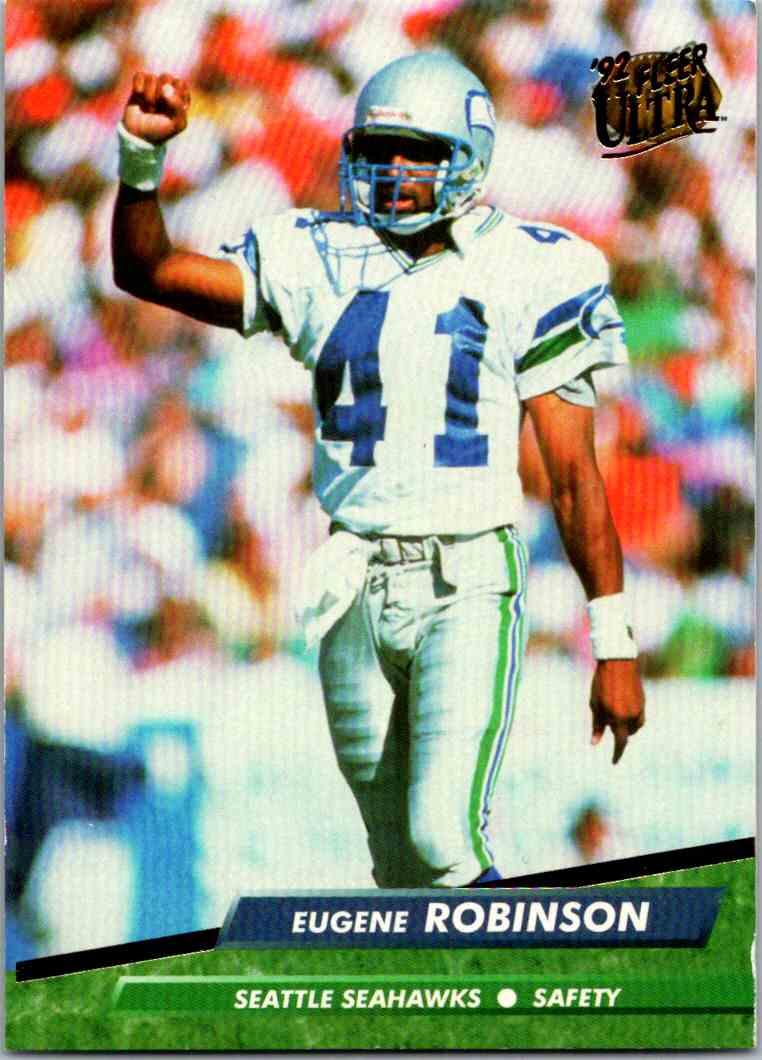 1992 Fleer Ultra Eugene Robinson #382 card front image