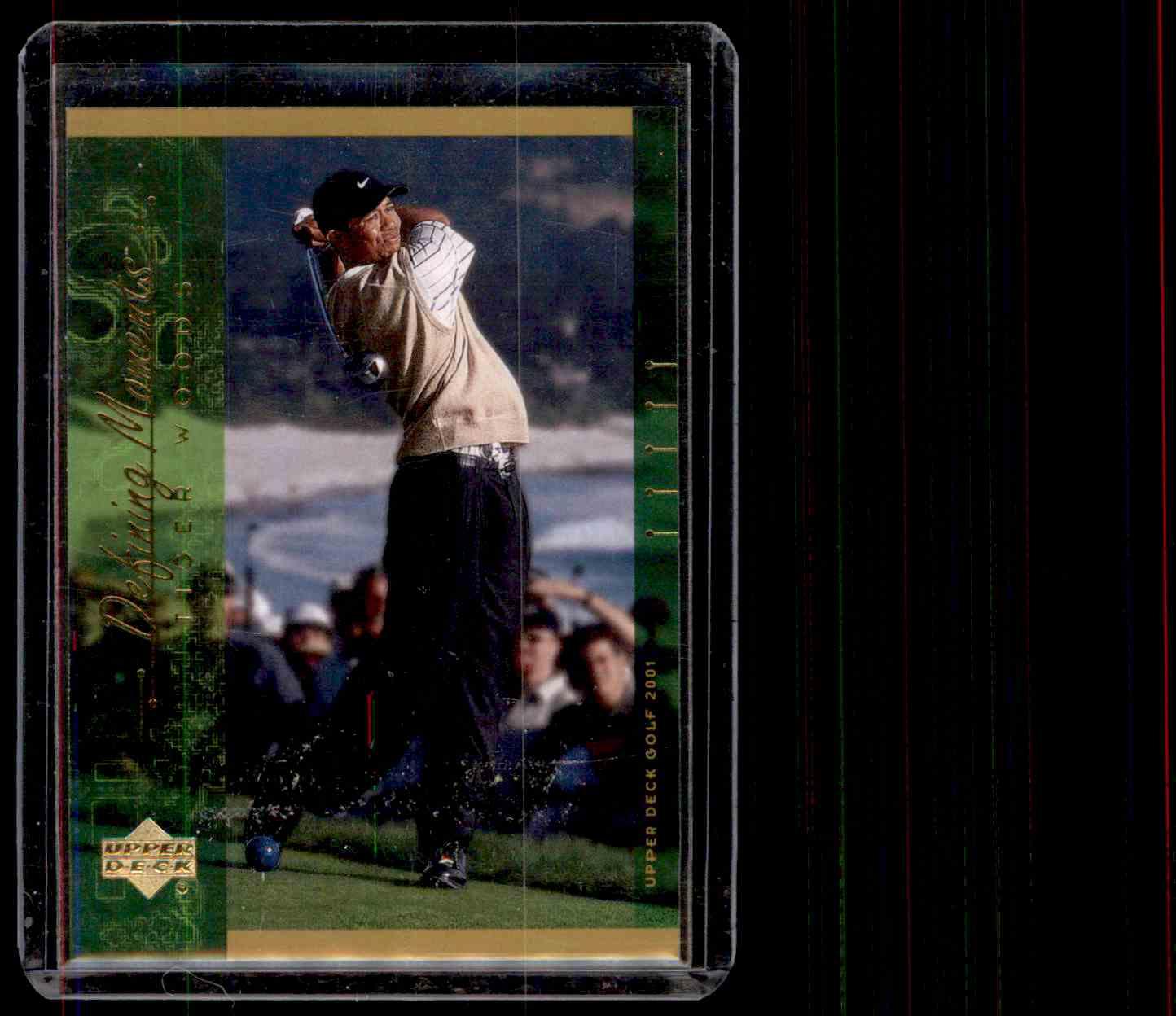 2001 Upper Deck Tiger Woods #124 card front image