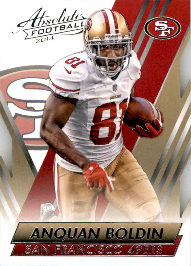 2014 Absolute Retail Anquan Boldin #7 card front image
