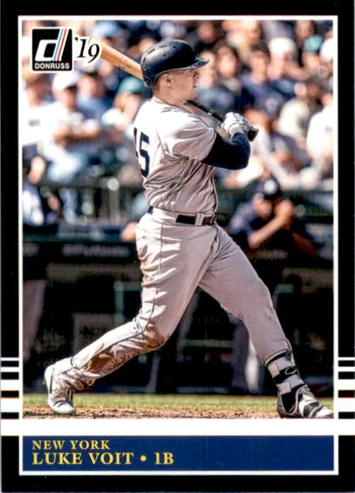2019 Donruss Luke Voit Retro #244 card front image