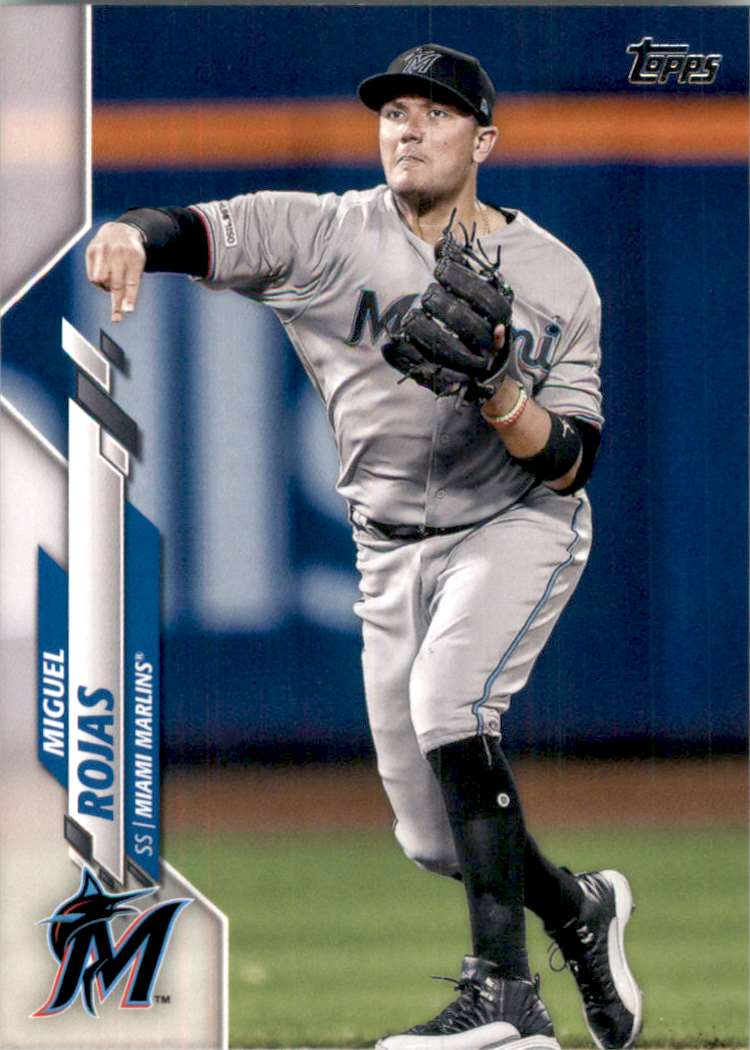 2020 Topps Miguel Rojas #453 card front image