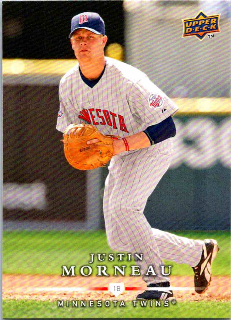 2008 Upper Deck First Edition Justin Morneau #404 card front image