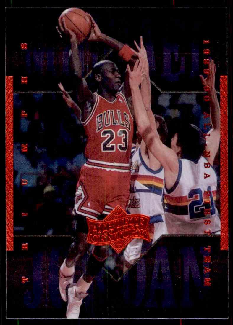 7adba31af1c7 1999-00 Upper Deck Michael Jordan Athlete Of The Century Michael Jordan  9  card