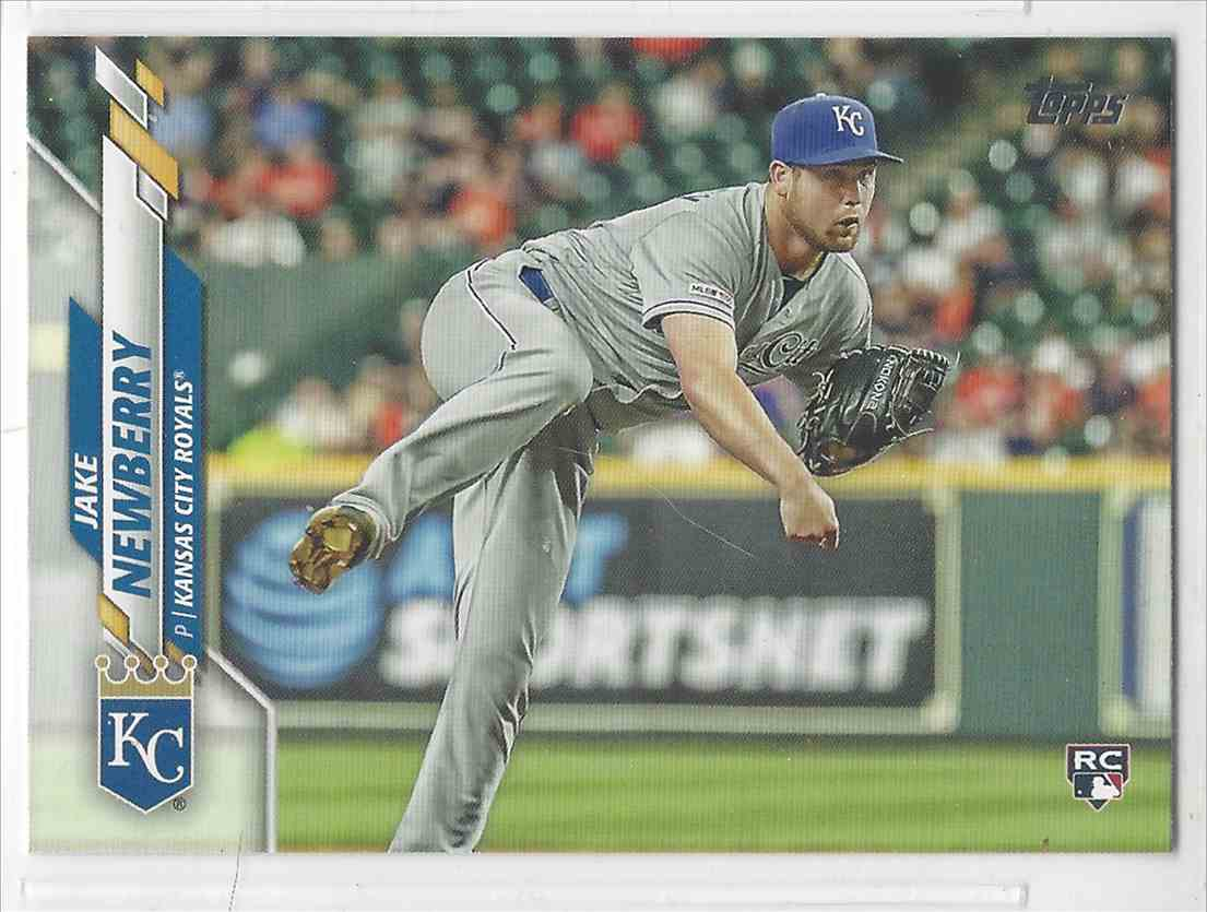 2020 Topps Update Jake Newberry #U-105 card front image