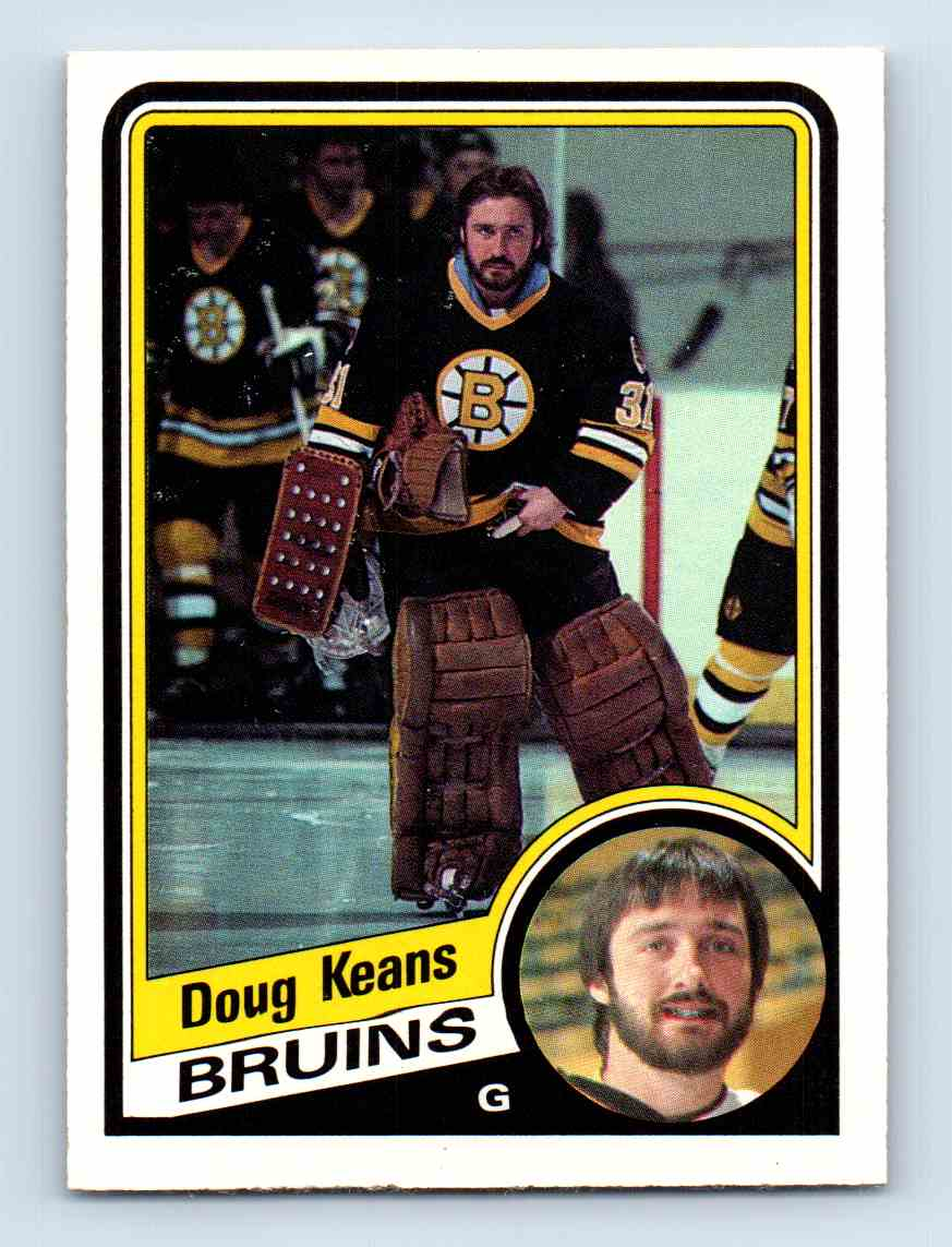 1984-85 O-Pee-Chee Doug Keans #5 card front image