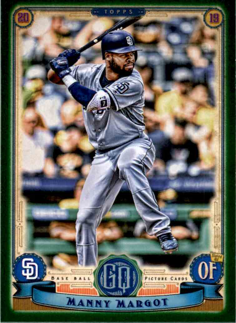 2019 Gypsy Queen Manny Margot #116 card front image