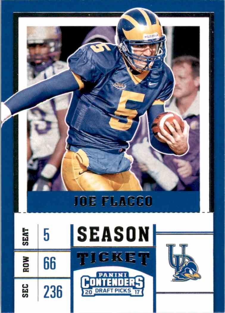 2017 Panini Contenders Draft Picks Joe Flacco #51 card front image